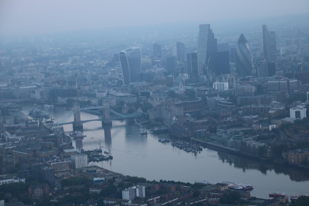 Puente de Londres y la City