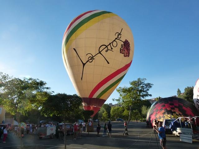 Globo de La Rioja en Calahorra