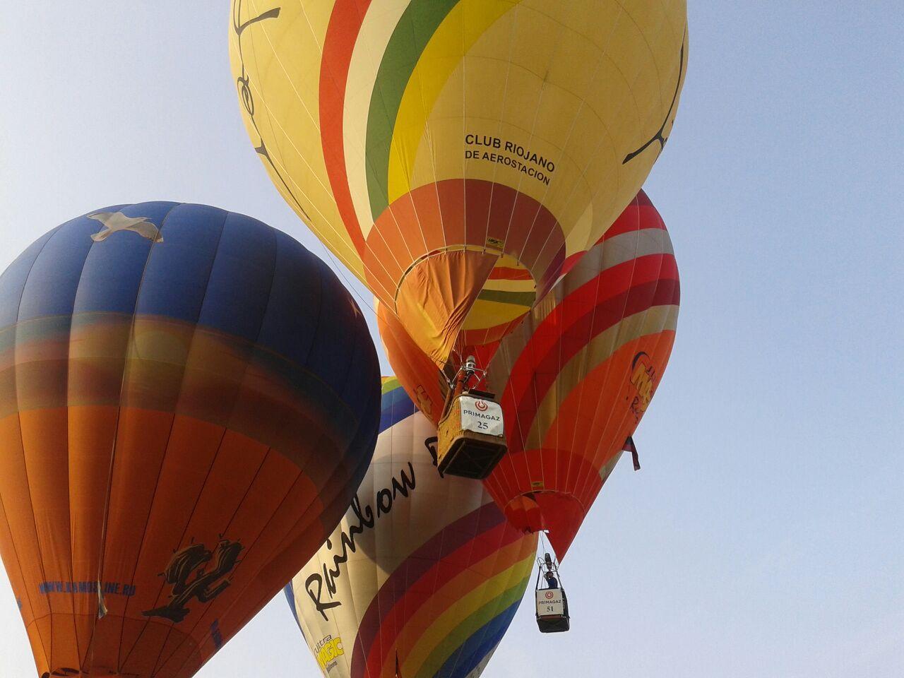 vuelo globo campeonato globo la rioja