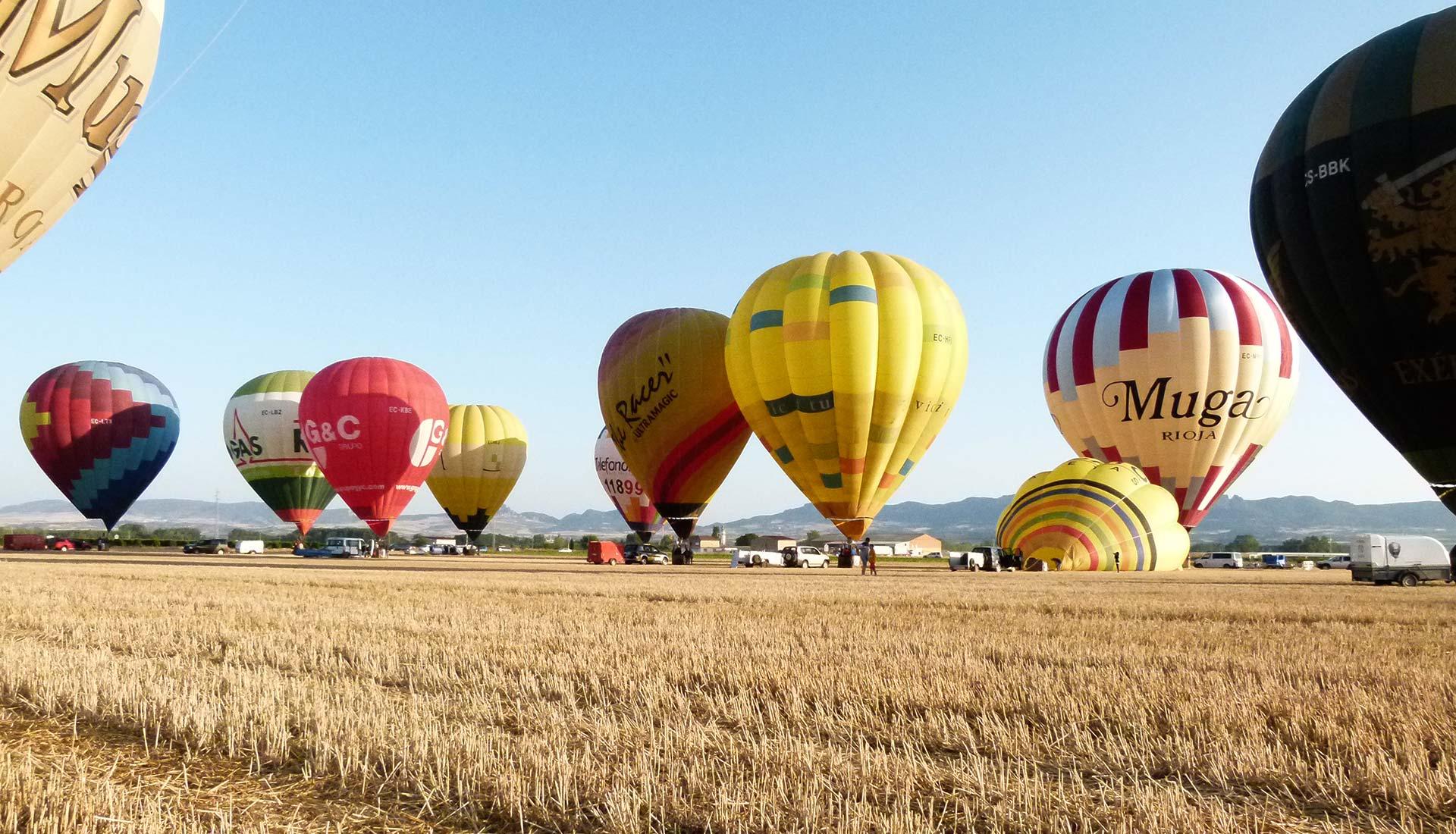 vuelo en globo arcoiris