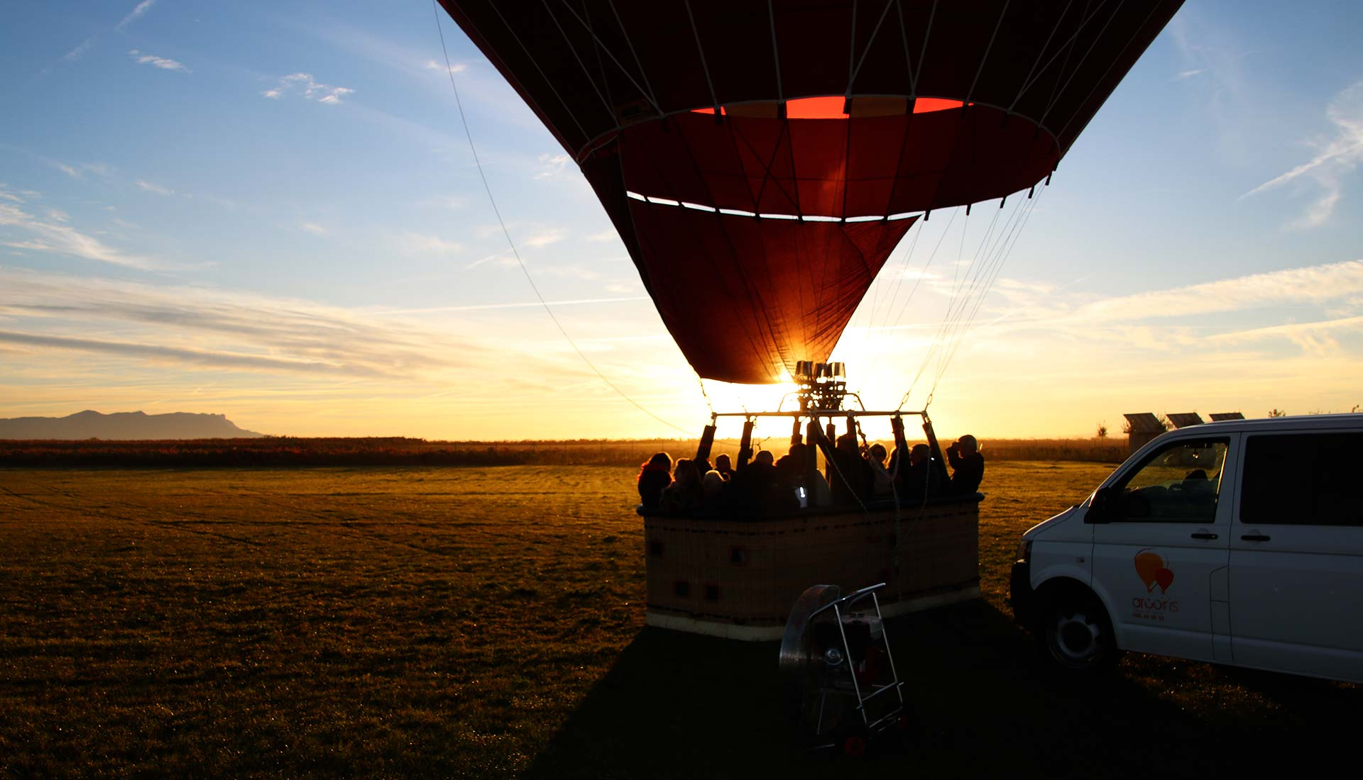 vuelo en globo arcoiris 44 min