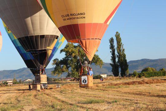 vuelo globo en haro volando