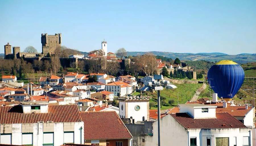 braganza vuelos en globo portugal norte